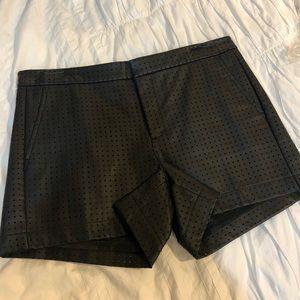 Banana Republic Faux leather shorts